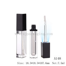 light lip gloss tube with mirror Wholesale LED light lip gloss container