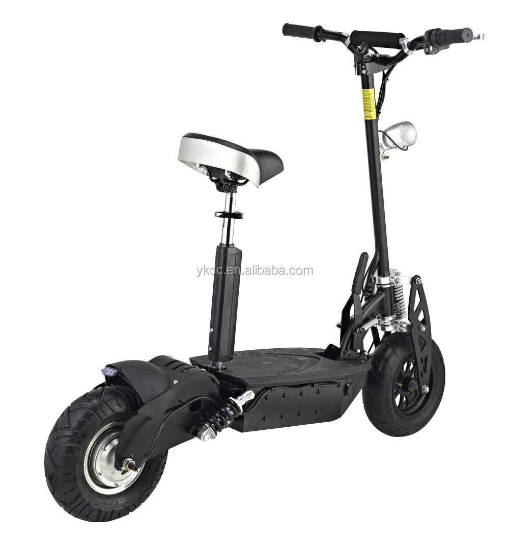 adult two wheel electric scooter with brushless wheel hub motor