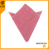 New Style Fashion Cotton Small Checked Handkerchief