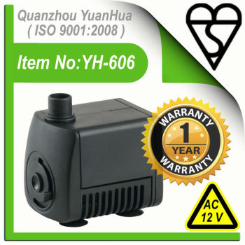 AC Fountain Pump(Model No.:PT-606(LB))