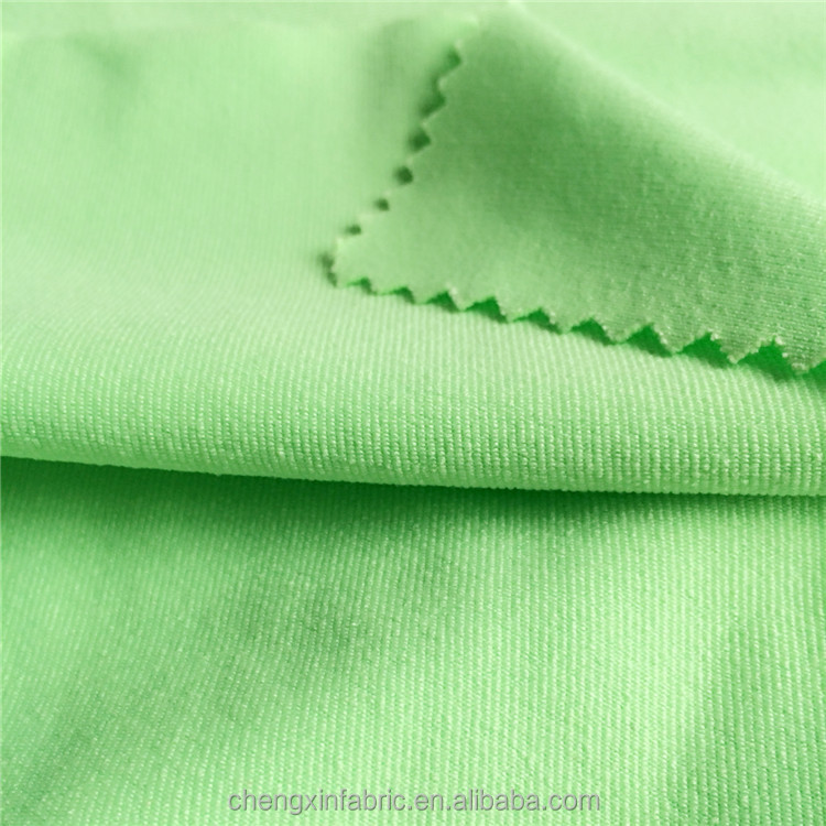 cotton type/style polyester/spandex single jersey fabric