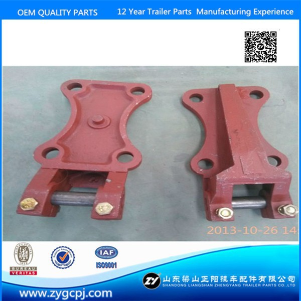 Trailer Mechanial Suspension casting parts Leaf Spring Seat & U bolt seat
