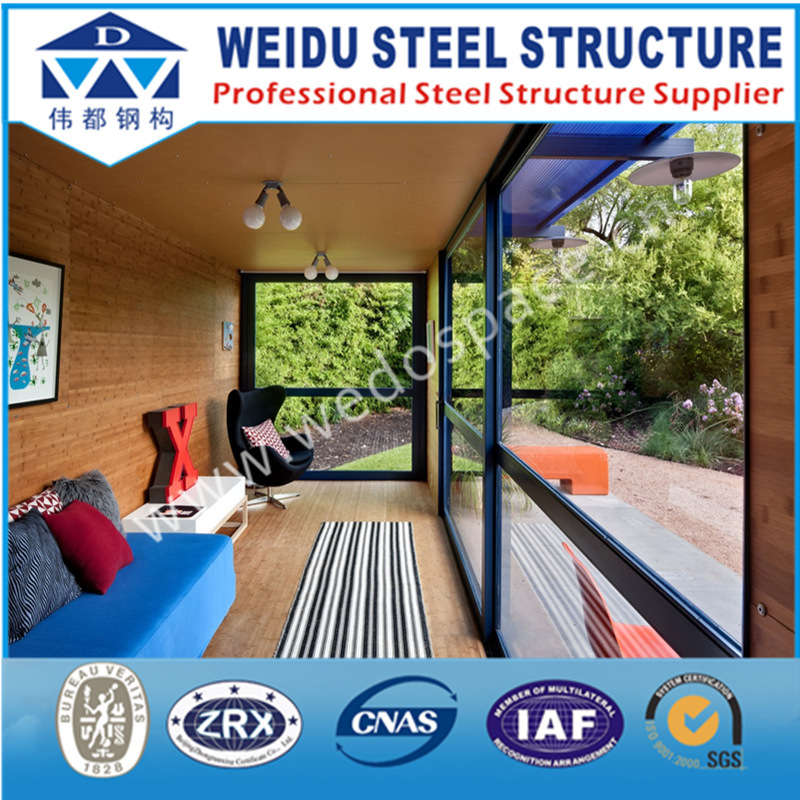 Modular container house luxury prefabricated aluminium structure house