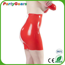 High Quality Red Latex Transparent Zentai Catsuit Clothes For Women
