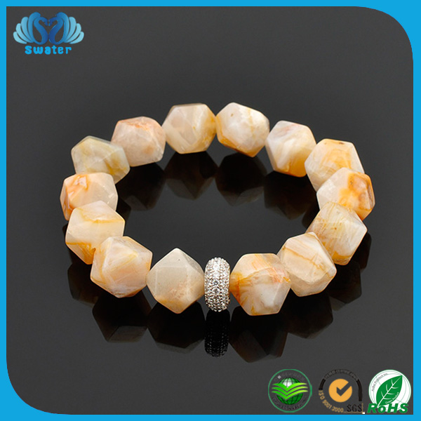 Alibaba Express In Spanish Beaded Bracelet Natural Stones For Jewelry Making