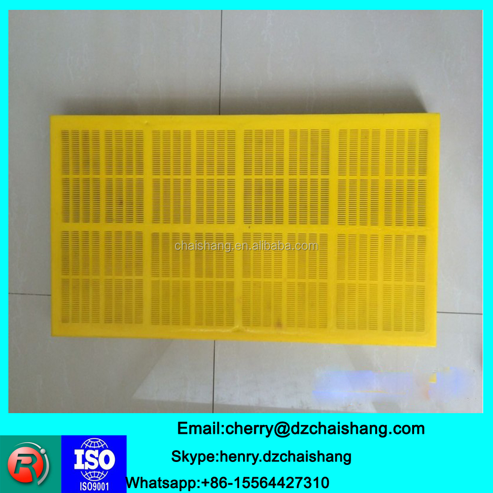 Mining sieve used polyurethane wire mesh screen/mineral screen mesh