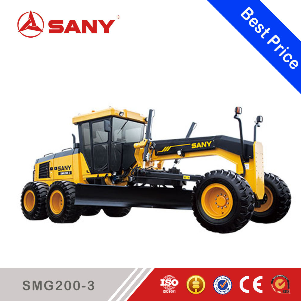 Sany SMG200-3 China Construction Equipment Motorized Road Motor Grader