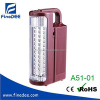 Battery Storage Rechargeable LED Flashlight
