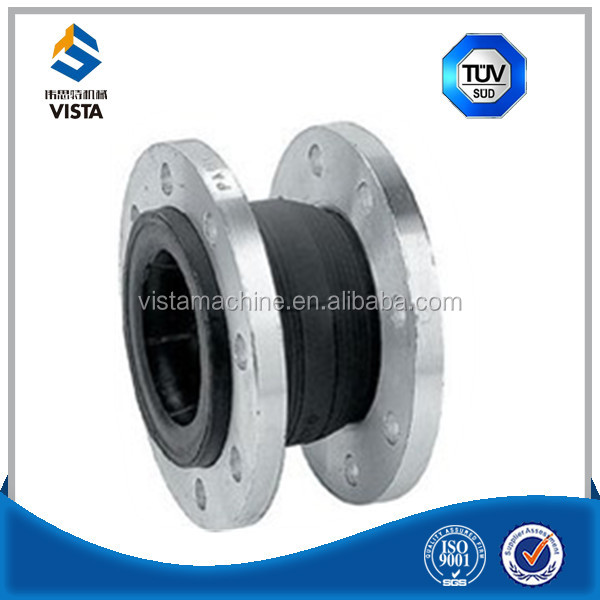 galvanized union type expansion joint rubber bellows pn16