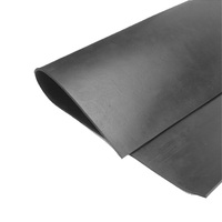 black new industrial products rubber sheet