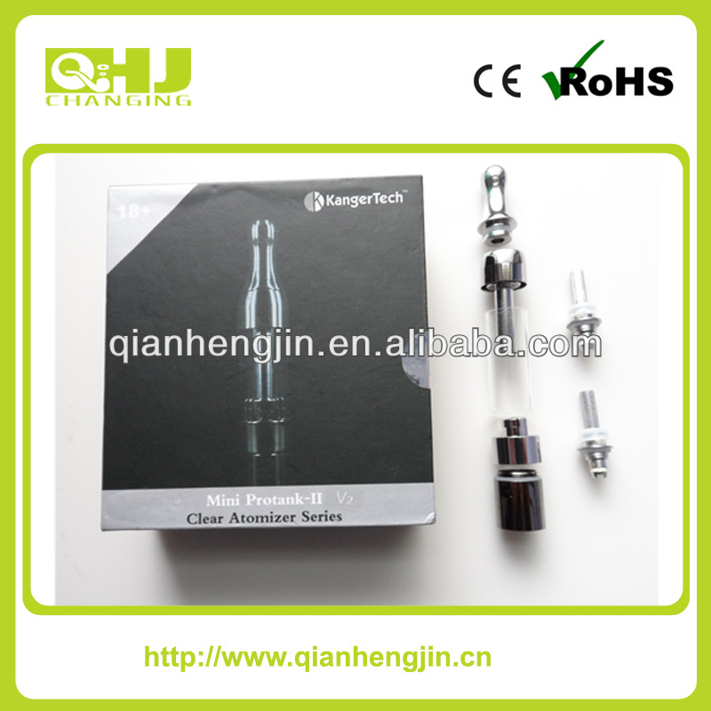 2014 Mini protank 2 clearomizer bottom replacement coil head atomizer