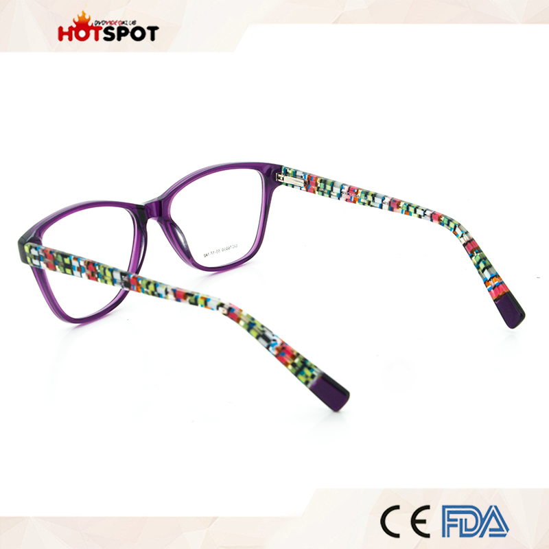 China Frame Home Eye Glasses Colorful Optical Glass Spectacle Frame