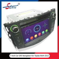 Car gps navigation for RAV4 2012 with android 4.4.4/dvd player/audio tuner