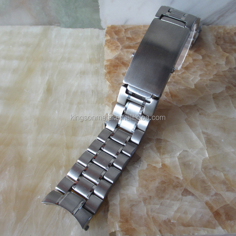 Quality solid stainless steel watch band 18mm 20mm 22mm