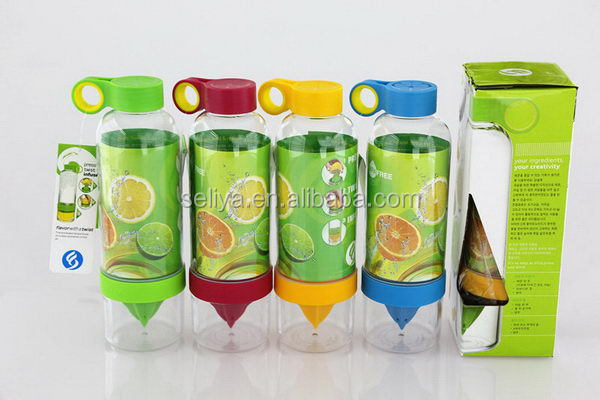 Contemporary Crazy Selling lemonade infuser juice lemon bottle
