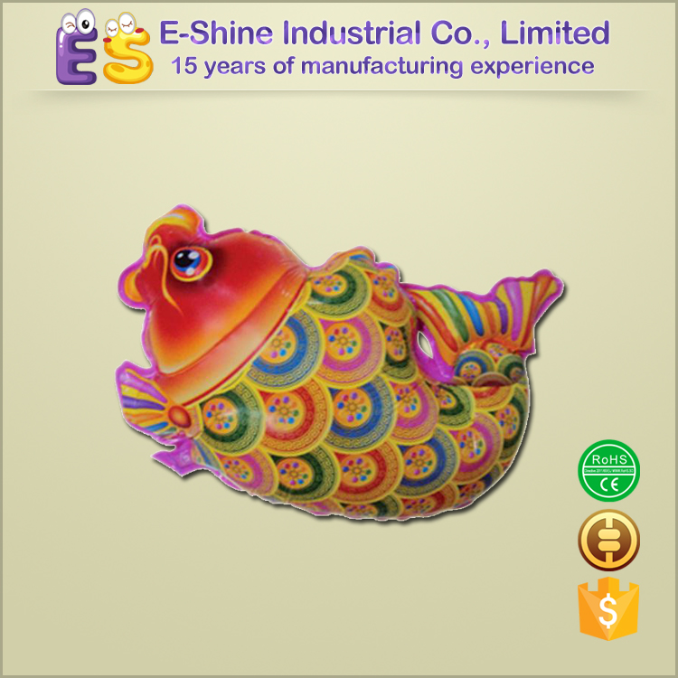 china golden fish new year decoration balloon mylar printable balloons