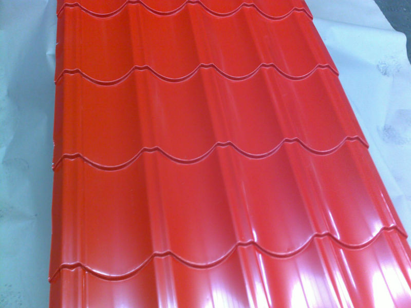Prepainted Galvalume Steel Coil corrugated iron galvanized corrugated iron steel tile sheet/roof sheet/corrugated iron