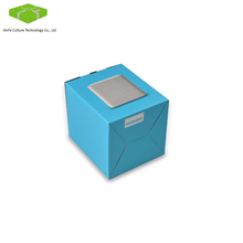 Electronic power bank colors printing matt paper box package