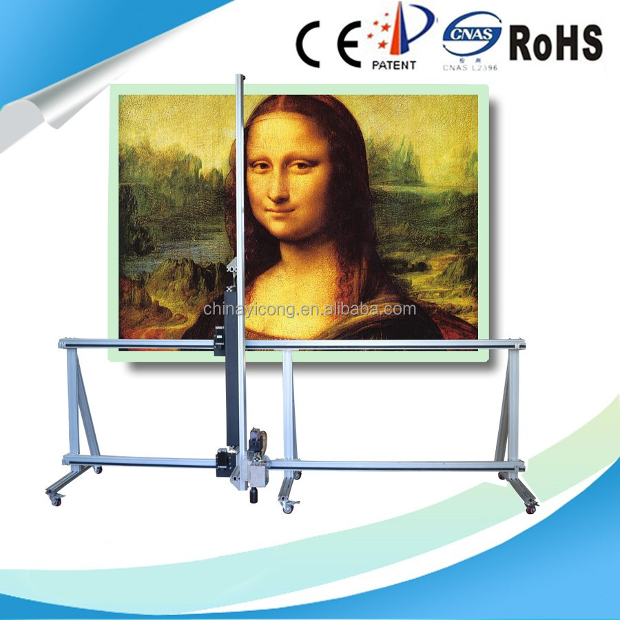 Print Direct To Wall Digital Printing Machine