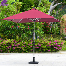Optional Color Outdoor Waterproof Polyester Offset Patio Garden Umbrella Parasol