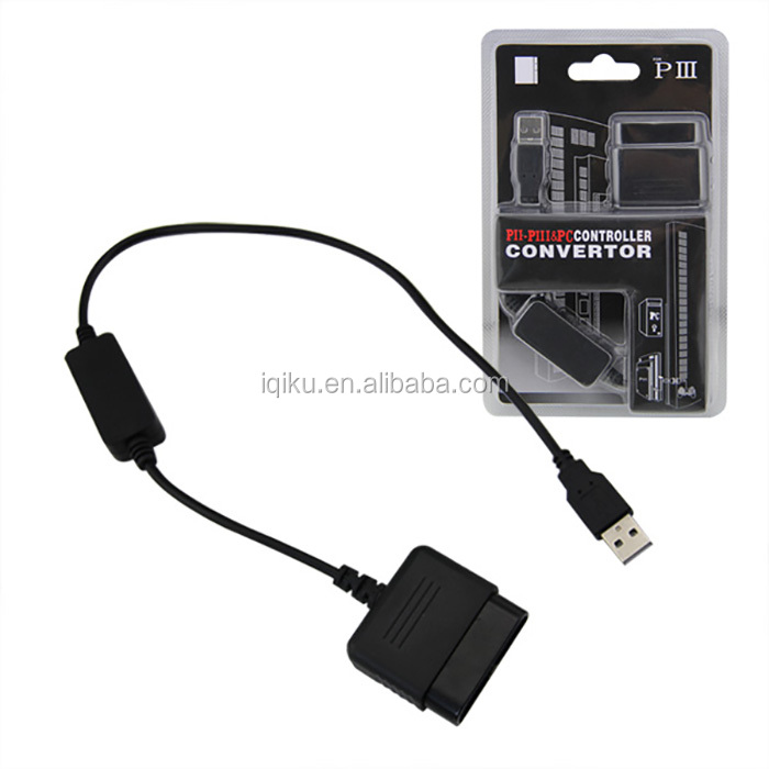 High Quality Hot Selling 1pc USB Adapter Converter Cable For Game Controller For PS2 to For PS3 Video Game Accessories