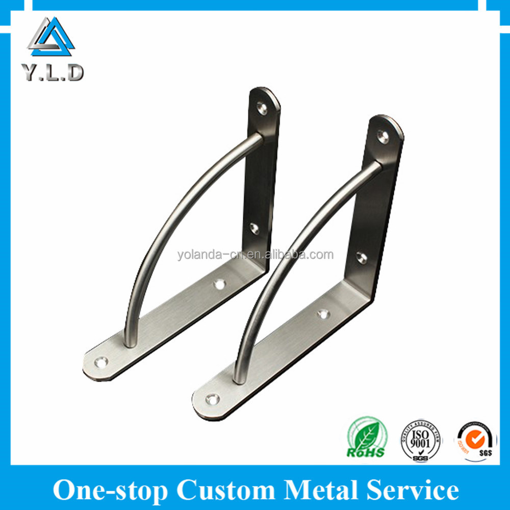 ISO9001:2008 OEM ODM Factory Wholesale Stainless Steel Shelf Bracket With Best Price