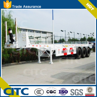 CITC Manufacturer 20ft 40ft Container Tipping Chassis