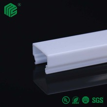 Polycarbonate Extrusion Profiles Pmma Profile For Led
