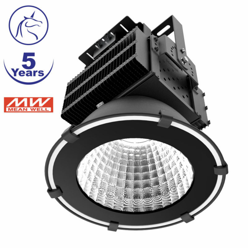 Outdoor IP65 waterproof high lumens sports field stadium lighting CE ROHS approved led flood light 500w
