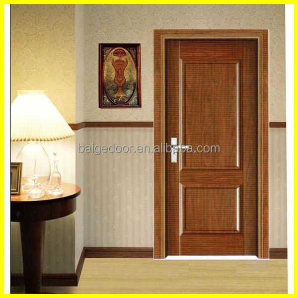 BG-P9120 China Solid Wood Interior French Doors