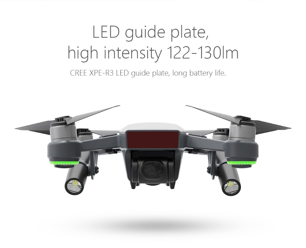 PGYTECH Night Flight LED Light For DJI Spark Drone Accessories Not
