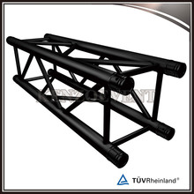 Aluminum Spigot Tube Black Square Truss for Sale