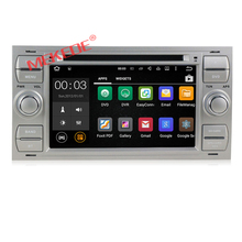 2-din Android 7.1 Quad core Car DVD GPS navigator For Ford Mondeo S-max C-MAX Galaxy 4G wifi BT DVR dvd player audio