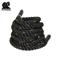 Diameter 38mm High Duty Poly Dacron Training Rope Battle Rope Great for General Fitness, MMA, Training and Tug of War