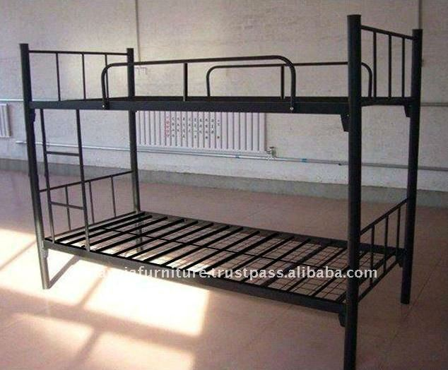 Metal Economy Labour Bunk Bed