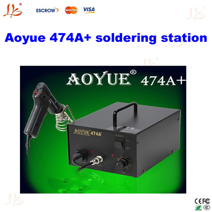 220V bga repair machine AOYUE474A+ Vacuum Gun Desoldering Gun Suction