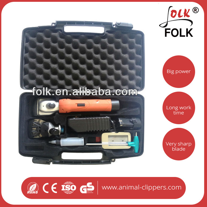 Professional electric combination rechargeable animal hair clipper