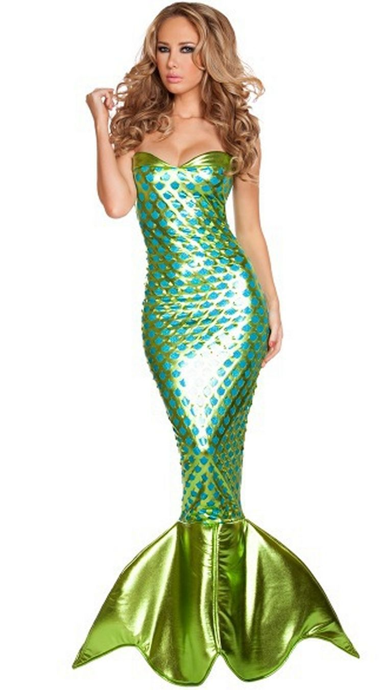 sexy dance costume  party dresses women fancy dress mermaid costume
