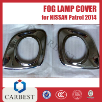 High Quality Fog lamp cover for Nissan Patrol 2014