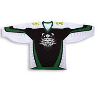 custom made sublimation printing wholesale blank Ice hockey jersey design
