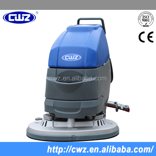 Competitive price pushing type concrete floor cleaning machine