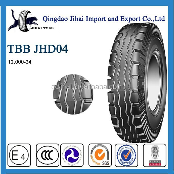 Wholesale high quality and cheap Truck Tyre 12.00 - 24 Made In China