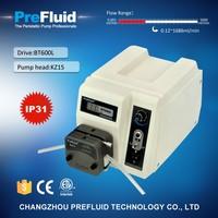 Prefluid BT600L peristaltic pump efficiency, peristaltic pump diy,peristaltic hose pump manufacturers, lab pump