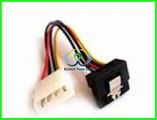 factory price SATA POWER CABLE angle lock