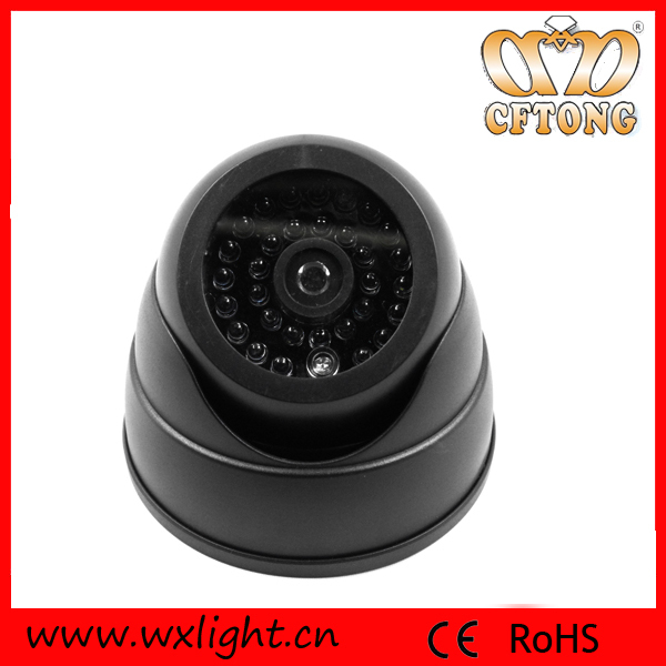 Battery Operated Outdoor Wireless Dummy Security Camera Dummy cctv Camera Analog Fake CCTV