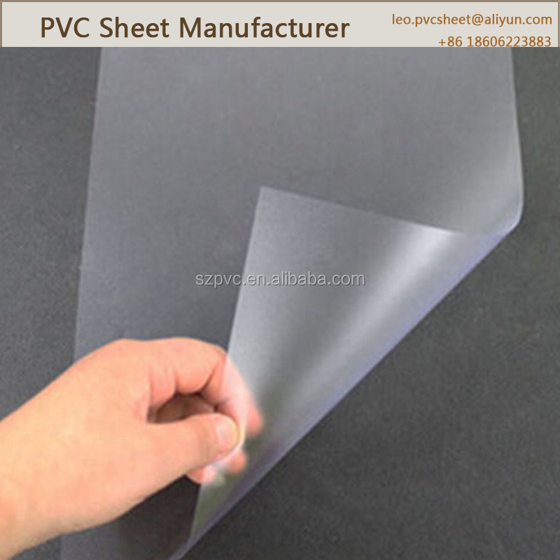 Super clear color 0.2mm thick plastic sheet