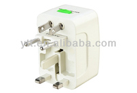 White universal international all-in-one travel plug adapter european electrical adapter