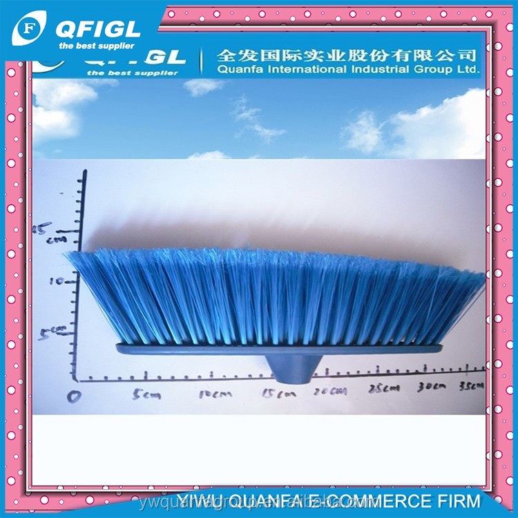 Various sweeping Plastic Broom Bristle and plastic push broom