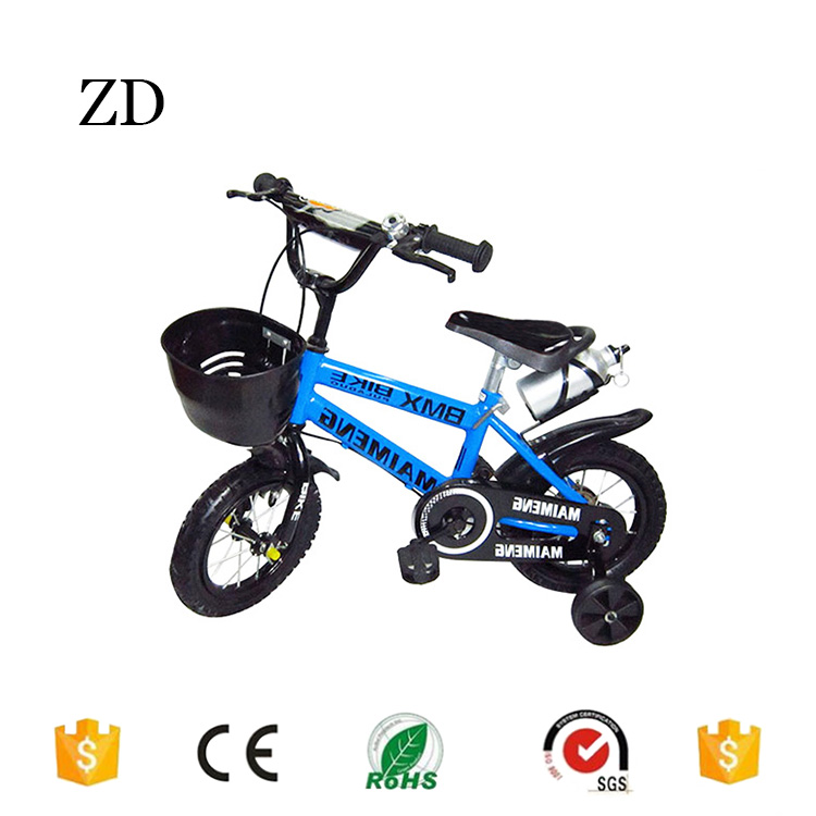 Hebei Zandi factory kids bike bicycle with cup 12 14 16 18 20 blue red yellow cheaper mountain children bikes