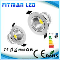 5W/7w/9w/12w New Bright LED COB chip downlight Recessed LED Ceiling light Spot Light Lamp
